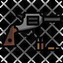Gun Pistol Cowboy Icon