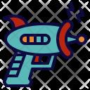 Gun Space Laser Icon
