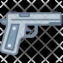 Gun Pistol Crime Icon