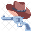 Gun Cowboy West Icon