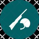 Gun Helmet Icon