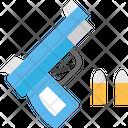Gun Bullet Gun Pestol Icon