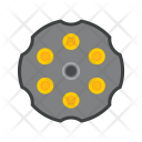 Chamber Bullet Gun Icon