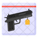 Gun Proof Gun Evidence Pistol Evidence Icon