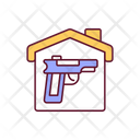 Self Defence Gun Icon