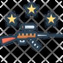 Gun Musket Pea Shooter Icon