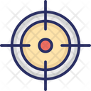 Gun Shooting Target Icon