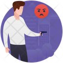 Gun Violence Icon
