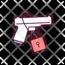 Gun Control Weapon Icon