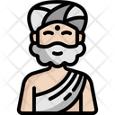 Guru Indian Meditation Icon