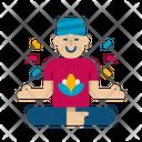 Guru Yoga Exercise Icon