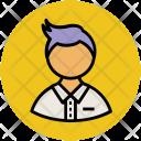 Guy Schoolboy Boy Icon