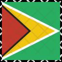 Guyana National Country Icon