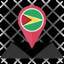 Guyana Flag Icon