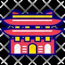 Seoul City Asian Landmark Icon