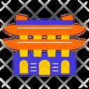 Gwanghwamun Gate Seoul City Asian Icon