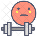 Gym Dumbbell Muscle Icon
