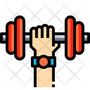 Gym Exercise Dumbbell Icon