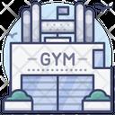 Club Fitness Center Icon