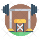 Athletic Club Gym Fitness Center Icon