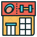 Gym Building Place Icon