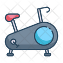 Gym Fitness Exercise Icon