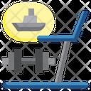 Gym Sport Fitness Icon