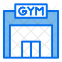 Gym Building Excercise Icon