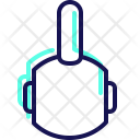 Gym Kettlebell Muscle Icon