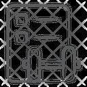 Gym Assessment Gym Checklist Fitness Icon