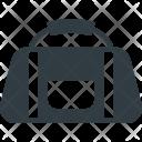 Gym Bag Equipment Icon