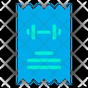 Gym Bill Icon
