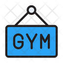 Gym Board Nameplate Icon