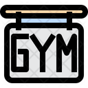 Gym Board Gym Banner Icon