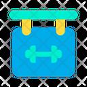 Board Gym Gym Board Icon