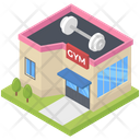 Gym Building Icon