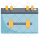 Calendar Fitness Workout Icon