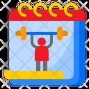 Gym Calendar Icon