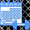 Calendar Schedule Sport Icon