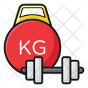Dumbbell Fitness Halteres Icon