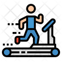 Fitness Gym Weightlifting Icon
