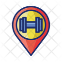 Fitness Centre Gym Fitness Icon