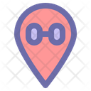 Location Map Position Icon