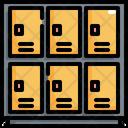 Gym Locker Lock Icon