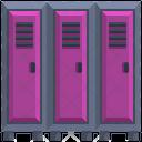 Gym Locker Locker Safe Icon