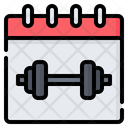 Gym Fitness Workout Icon