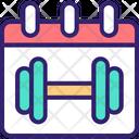 Gym Schedule Icon