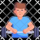 Gym Trainer Icon