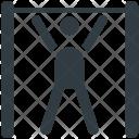 Gymnast Gymnastic Exercise Icon