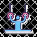 Gymnast Fitness Athlete Icon